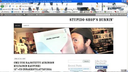 Stupido-Shop's Burnin