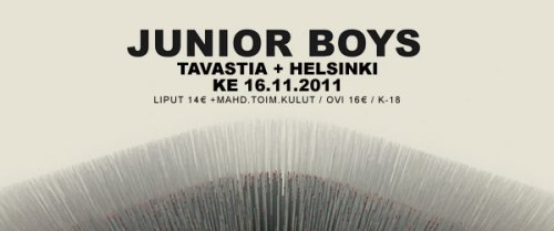 JUNIOR BOYS